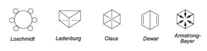 Modelos propostos sobre a estrutura do benzeno o que levou ao sonho de kekulé ( Friedrich August Kekulé )