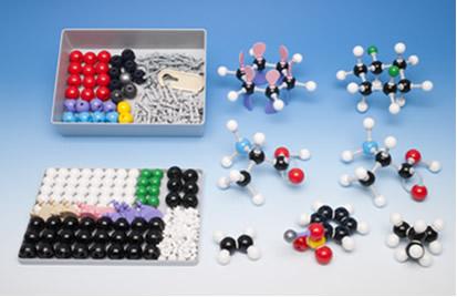 Kit de modelos de química orgânica