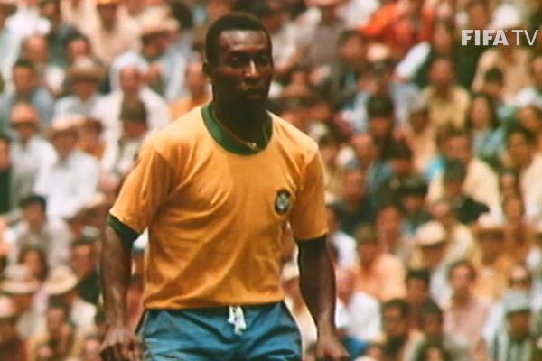 Pelé foi o jogador mais jovem da história a vencer uma Copa do Mundo, com 17 anos.¹