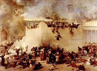 destruição de Jerusalém marcou a diáspora do povo judeu