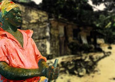 Zumbi foi um dos mais bravos líderes da comunidade quilombola dos Palmares.