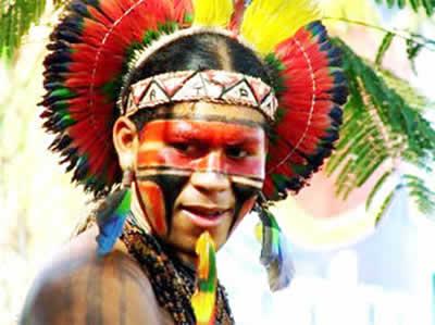 """trajetória dos índios e a """"Canção do Tamoio"""""""