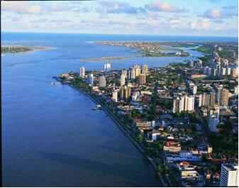 Aracaju, cidade que abriga 25% da população sergipana