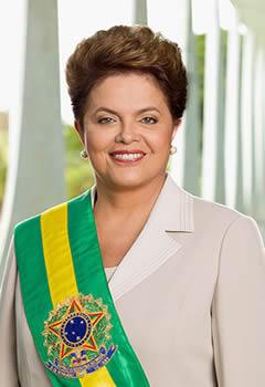 A primeira mulher a assumir o cargo mais importante da República