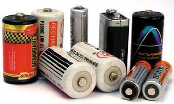 Geradores Elétricos e Força Eletromotriz Pilhas