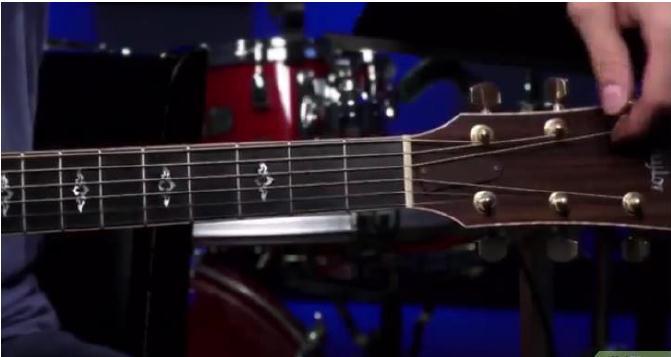 Braço de um violão
