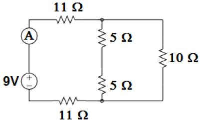Esquema ilustrativo de circuito elétrico