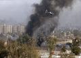 Fumaça preta na cidade de Bagdá