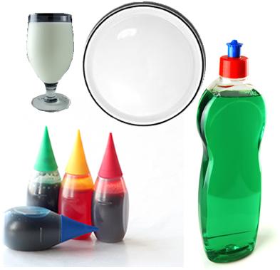 Materiais necessários para o experimento do leite psicodélico
