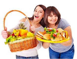 Valorize os alimentos saud�veis em sua cantina