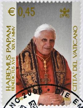 Joseph Ratzinger, ou papa Bento XVI, renunciou ao pontificado após sete anos no cargo.*