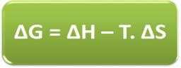 Equação de Gibbs-Helmholtz para determinar a espontaneidade de uma reação