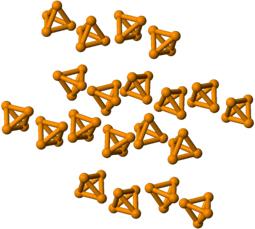 Moléculas do fósforo branco