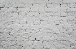 Pintura de caiação em parede