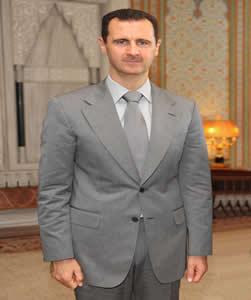 O governante sírio Bashar Al-Assad