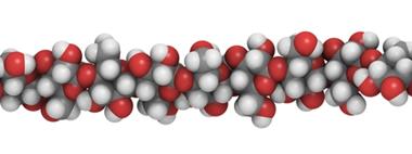 A celulose é um polímero natural