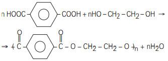 Exemplo de polimerização por condensação em exercício