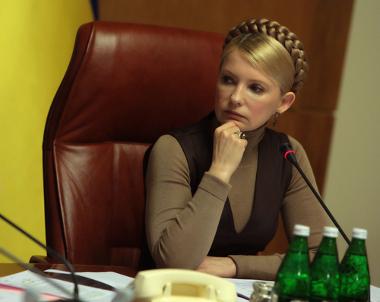 Yulia Tysmoshenko, ex-primeira-ministra da Ucrânia