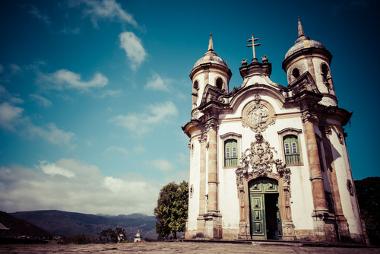 Igreja de São Francisco de Assis, Ouro Preto. Patrimônio da humanidade