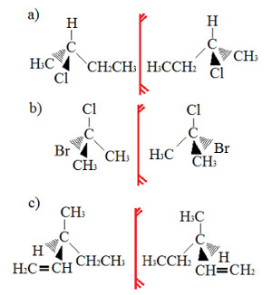 Exercício sobre isomeria óptica