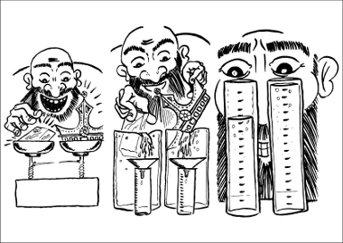 O Princípio de Arquimedes é usado para medir o volume de sólidos irregulares