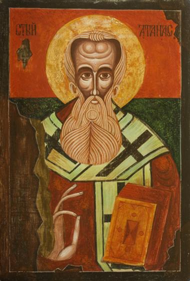 Santo Atanásio de Alexandria foi um dos mais importantes sábios da Igreja Cristã Primitiva a combater a heresia do arianismo