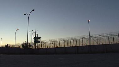 Muro construído na cidade de Melilla *