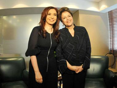 Cristina Kirchner e Dilma Rousseff são exemplos de lideranças femininas na América do Sul ¹