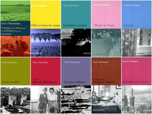 Erico deixou vasta obra, entre elas romances, contos, livros infanto-juvenis, autobiografias e uma novela **