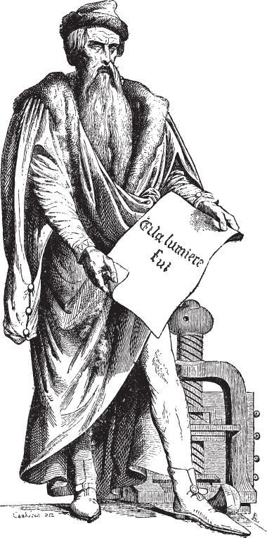 Johannes Gutenberg, o primeiro gráfico e pai da impressão gráfica moderna