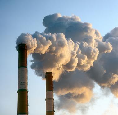 Poluição atmosférica gerada pela atividade industrial