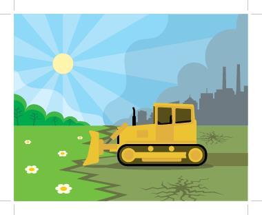 O desmatamento e a poluição são as principais causas do aquecimento global