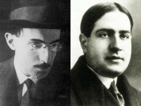 Fernando Pessoa e Mário de Sá-Carneiro estão entre os principais representantes do Orfismo em Portugal