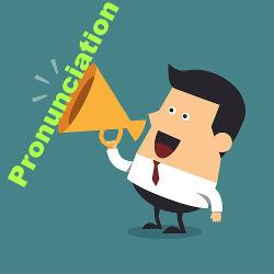 """A palavra """"Pronúncia"""" em inglês é a menos pronunciada"""