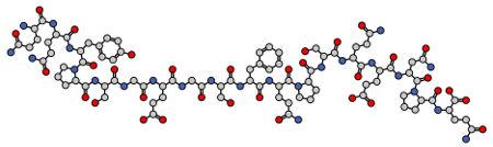 Fórmula estrutural da Gliadina