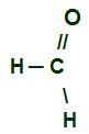 Fórmula estrutural do menor aldeído