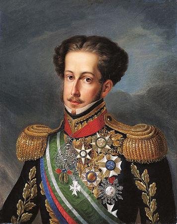 Dom Pedro I abdicou do trono, em 1831, legando o poder ao filho, Pedro de Alcântara