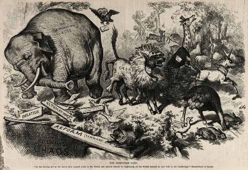 Charge de Thomas Nest de 1874 *