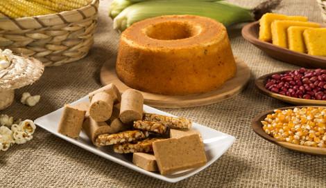 Comidas feitas com amendoim e milho não podem faltar na Festa Junina