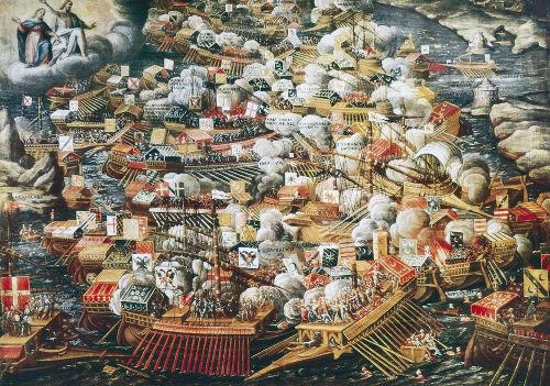 A batalha de Lepanto freou a expansão turco-otomana na Europa
