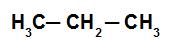 Fórmula estrutural de um hidrocarboneto qualquer