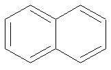 Fórmula estrutural de um aromático polinuclear de núcleos condensados