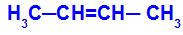 Cadeia de uma substância que apresenta isomeria cis-trans
