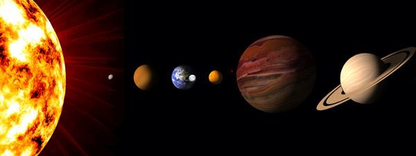 Alguns dias da semana homenageiam o Sistema Solar