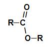 Grupo funcional geral de um éster