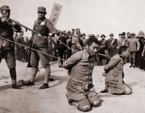 Execução de prisioneiros chineses durante a Segunda Guerra sino-japonesa