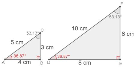 Resultado de imagem para Semelhança de triângulos