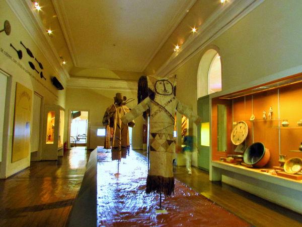 O Museu Nacional contava com exposições sobre a riqueza da cultura indígena, afro-brasileira e do Pacífico. (Foto: Acervo pessoal da Dra. Elysiane de Barros Marinho)