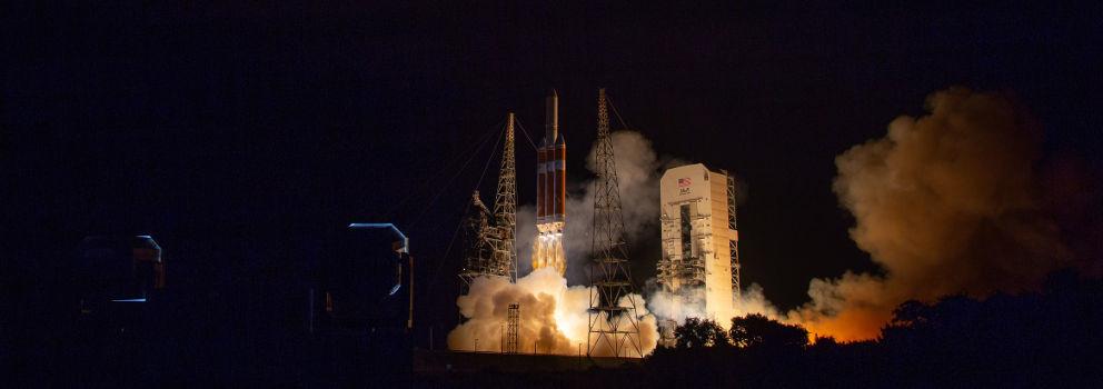 Lançamento da sonda Parker, no Cabo Canaveral.²