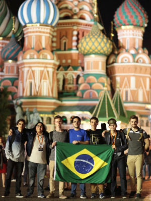 Equipe brasileira Olimpíadas de Economia 2018